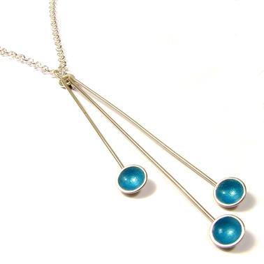 Triple Droplet Turquoise