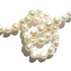 Monochrome classic freshwater pearl necklace
