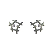 Monochrome mini rutile formation studs