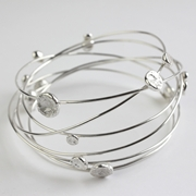 Multi wire bangle