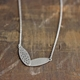 plain + holey oval necklace 2