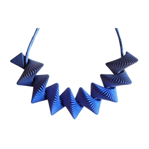 Helix Necklace - Blue