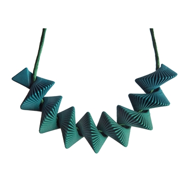 Helix Necklace - Green
