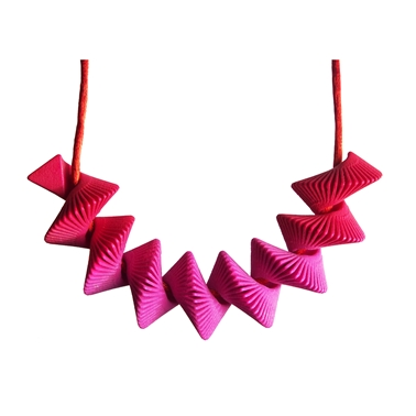 Helix Necklace - Pink