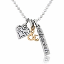 love & cherish necklace