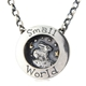 Small world bunny, necklace