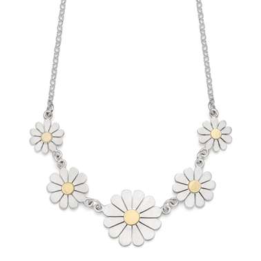 Five daises necklace