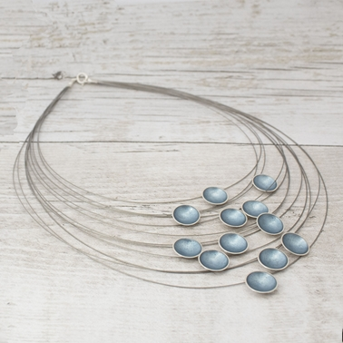 Multi Strand Ice Necklace