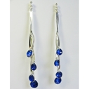 fine waterfall drop earrings