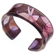 Pink Sweetpea cuff narrow