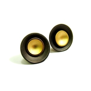 Large Target Studs - Oxi and Gold-Plate