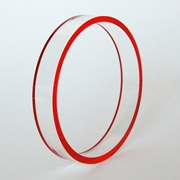 orange edge bangle