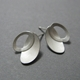 Oval petal earrings