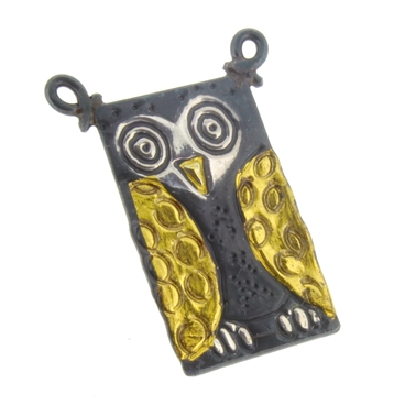 Owl brooch/pin 2