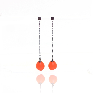 orange long drops