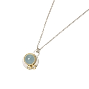 Aquamarine mini necklace