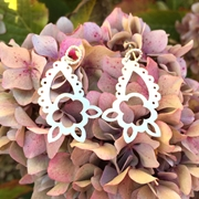 Paisley Flower Earrings