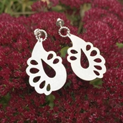 Paisley Petal Earrings