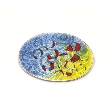 Petri brooch oval