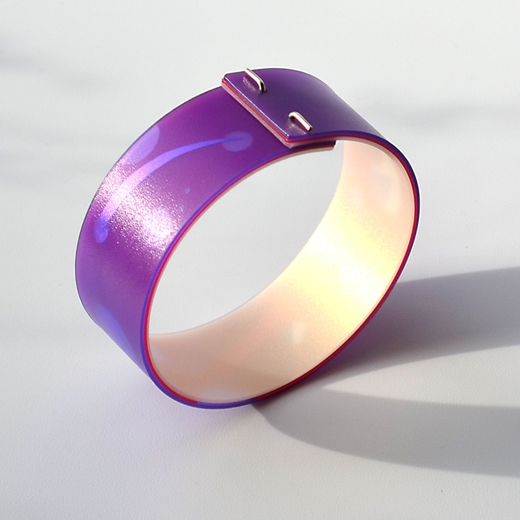 purple bangle another view