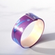 purple and blue bangle