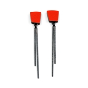 red square line studs 1