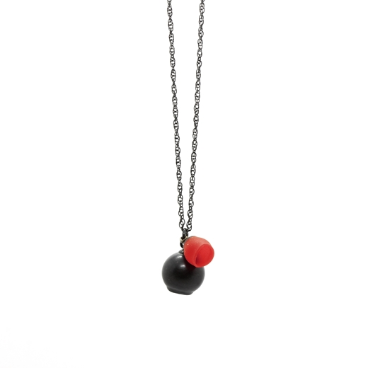 Red 2 Cup Pendant
