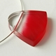 red brushstroke pendant 1