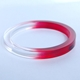 red dip dyed bangle