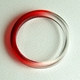 red dipped bangle