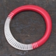 red stripy wangle bangle