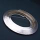 Circle silver brooch