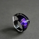 Oblong Ring in Purple