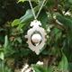Rococo Pearl Drop Necklace