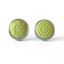 round studs - Apple Green