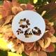 Silver Floral Motif Brooch