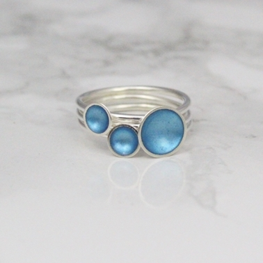 Ring Stack - Turquoise