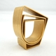 Strata Curve Gold Ring