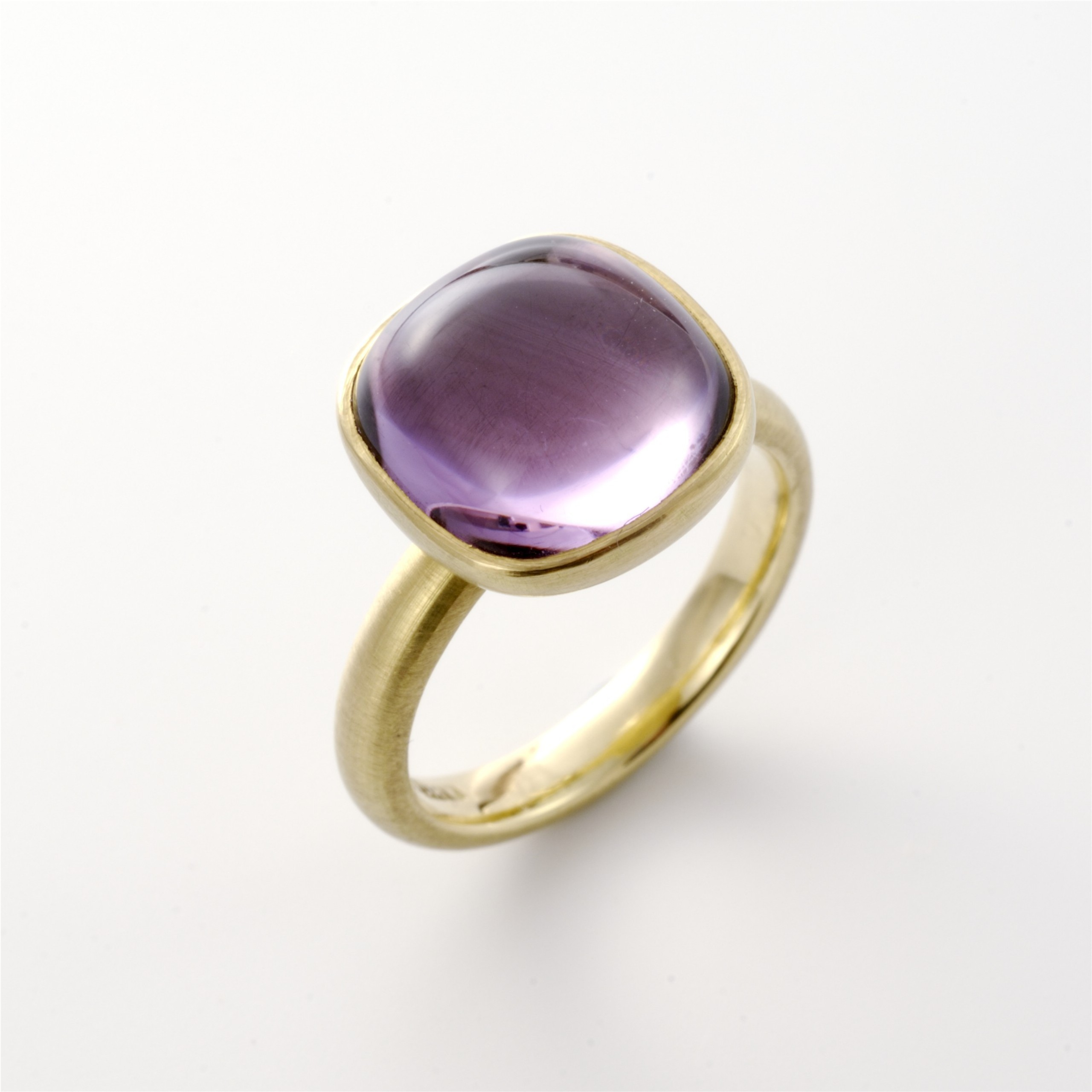 amethyst white rings ring in with gold diamonds