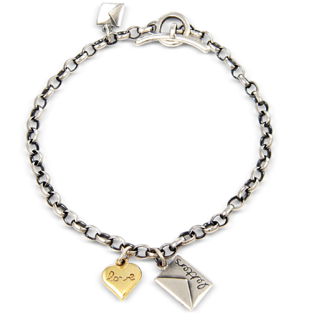 love letters bracelet contemporary bracelets by With love letter bracelet