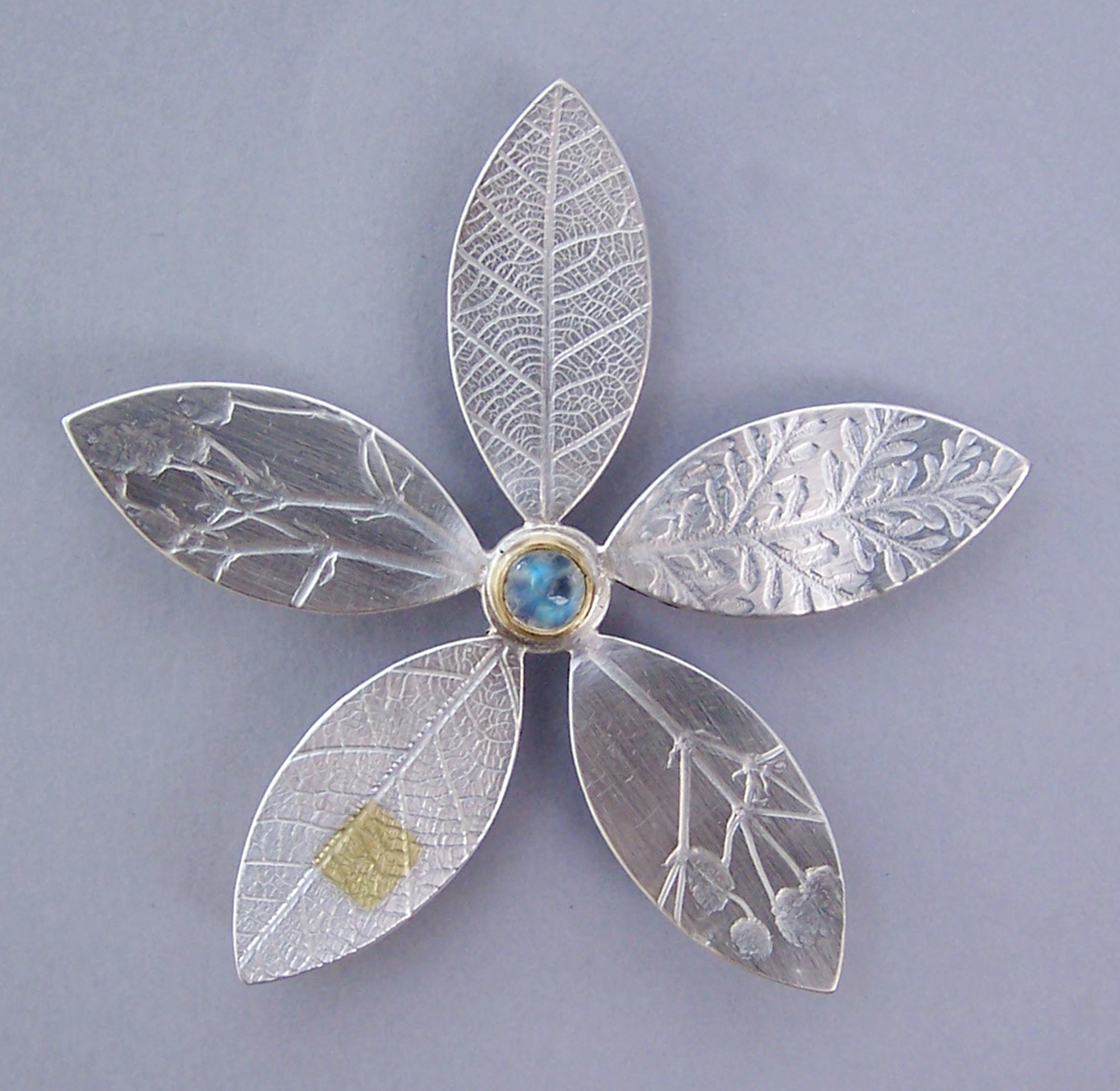 moonstone in c made maas england object collection brooch