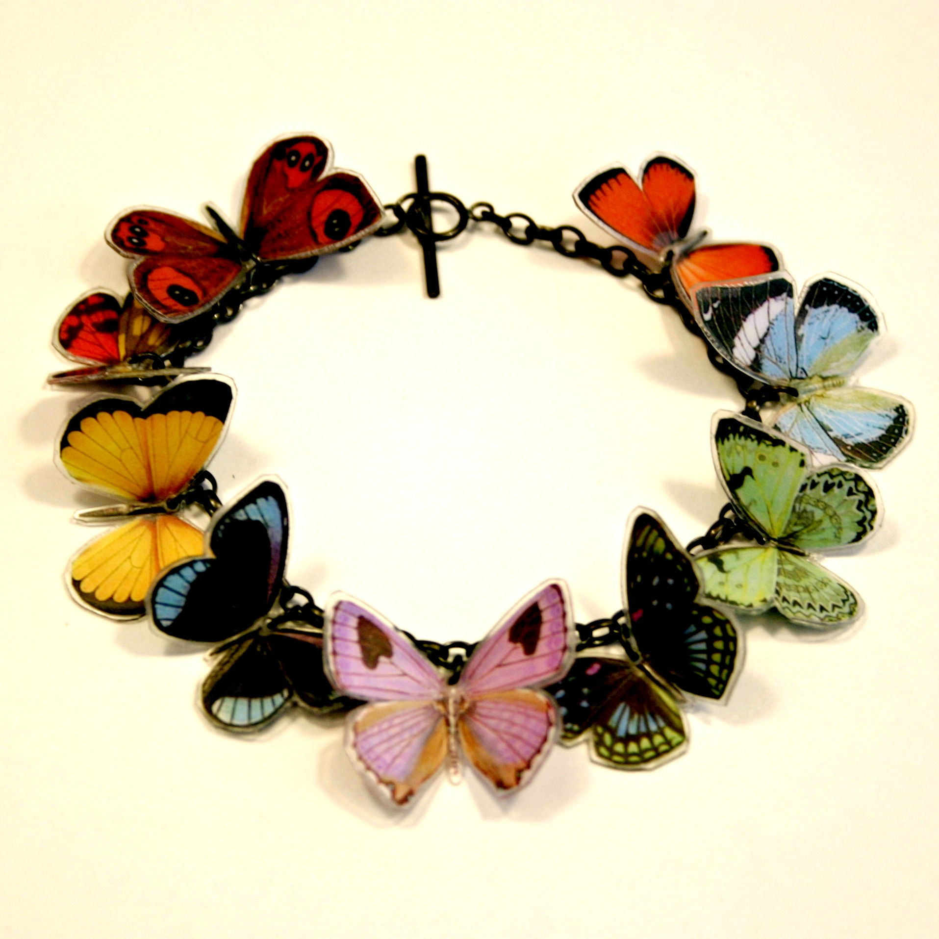 9 X Butterfly Bracelet Contemporary Bracelets By