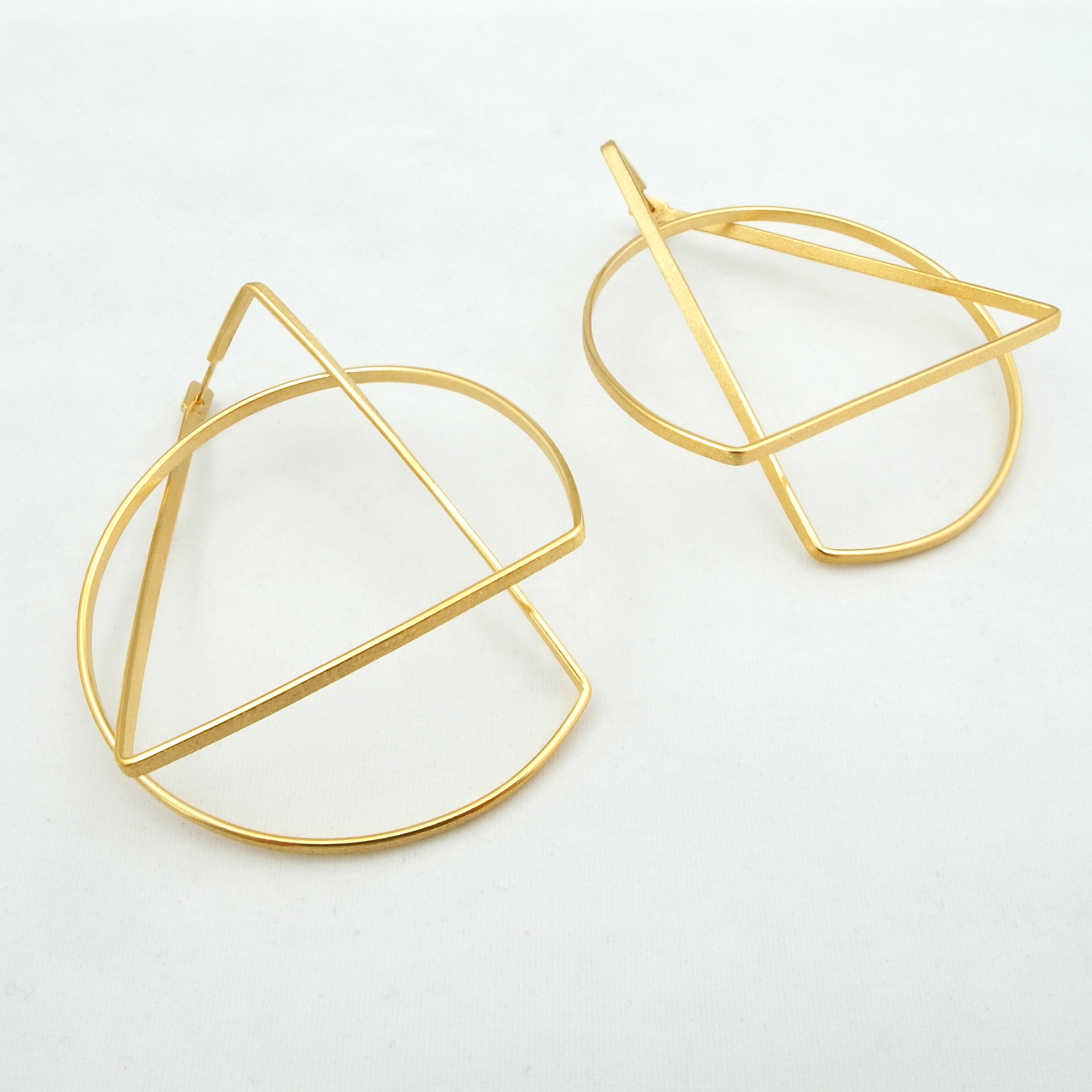 product shards gold plymouth earrings shard victoria plated gallery contemporary linear drop jewellery devon hunt sewart carol