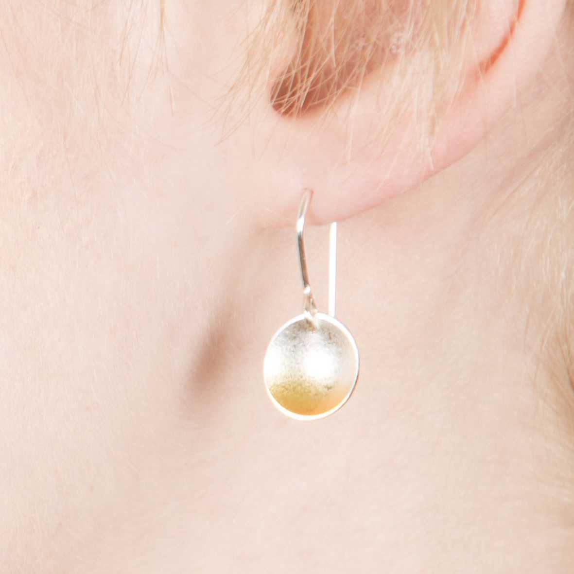 ffe13bd62 Electra Small Drop Earrings | Contemporary Earrings by contemporary ...