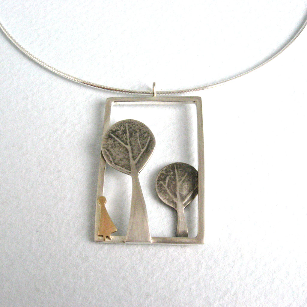Forest Pendant Contemporary Necklaces Pendants By
