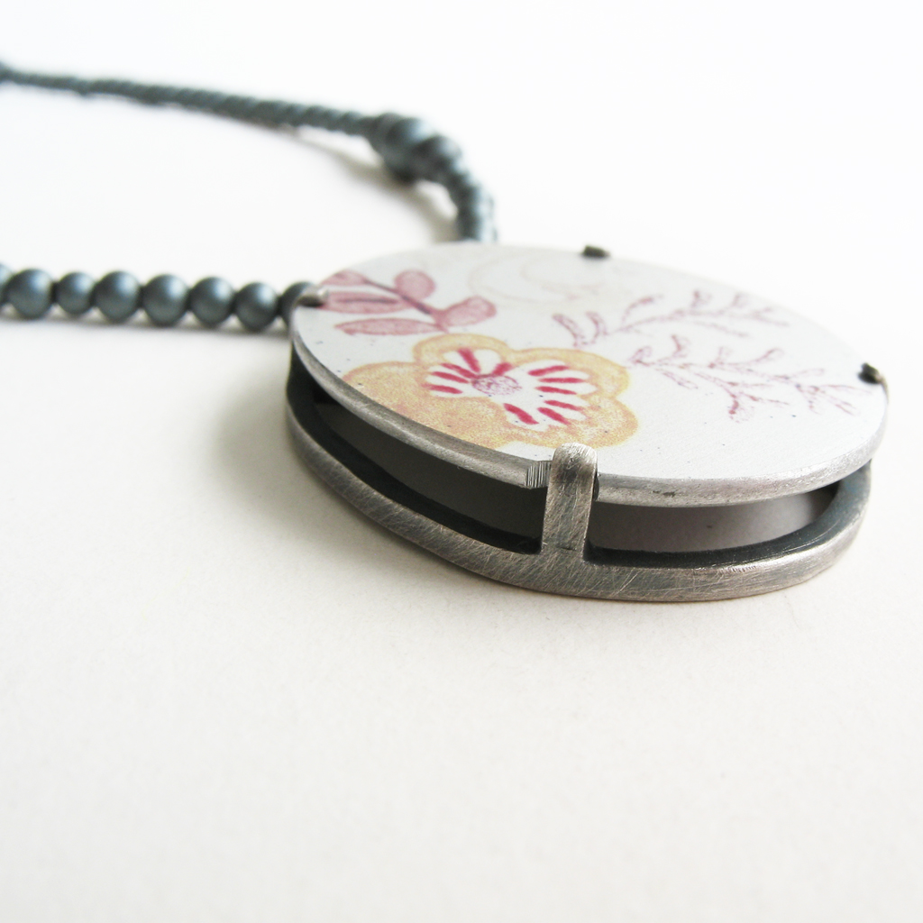 Frame pendant contemporary necklaces pendants by contemporary frame pendant detail aloadofball Gallery