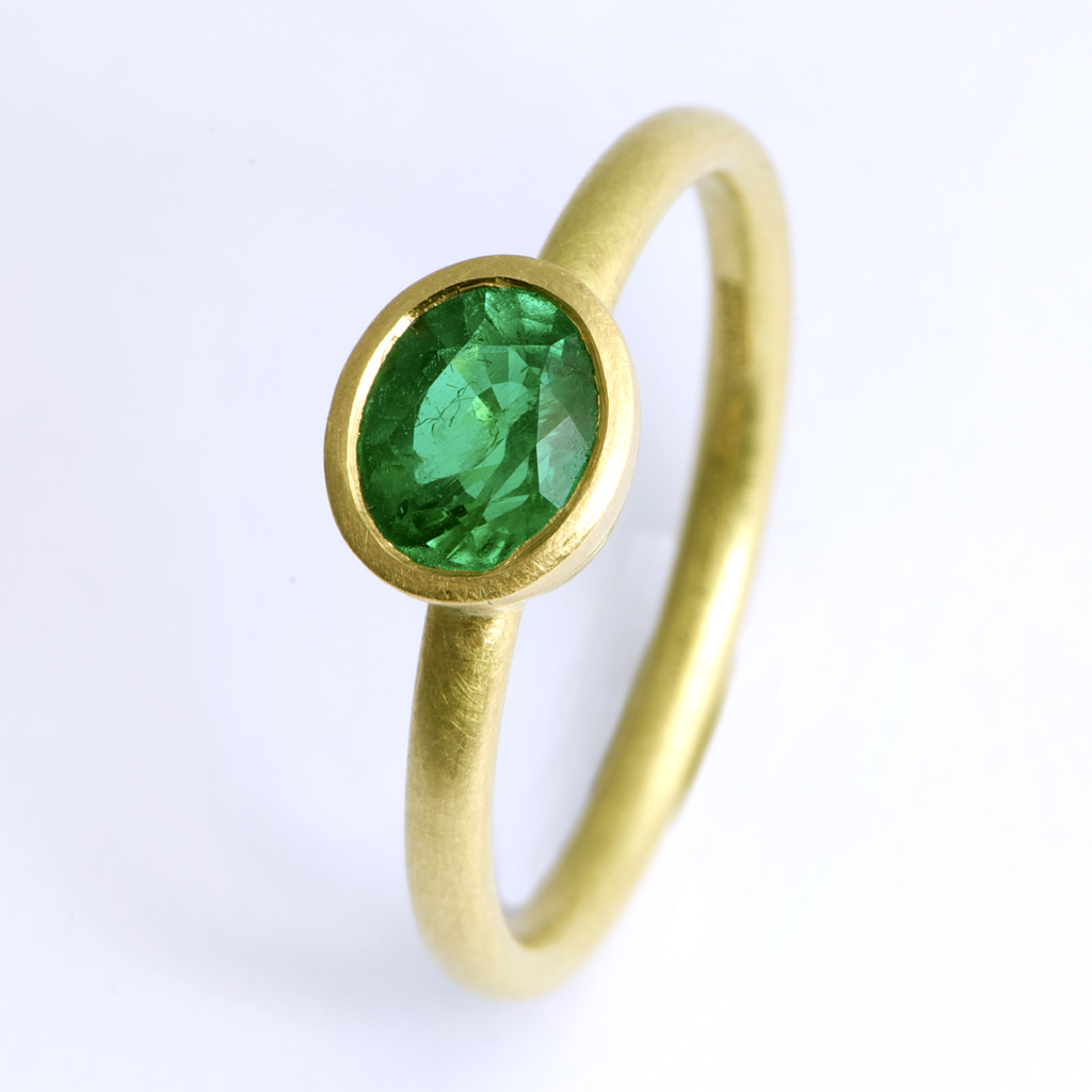 emerald ring contemporary rings by contemporary