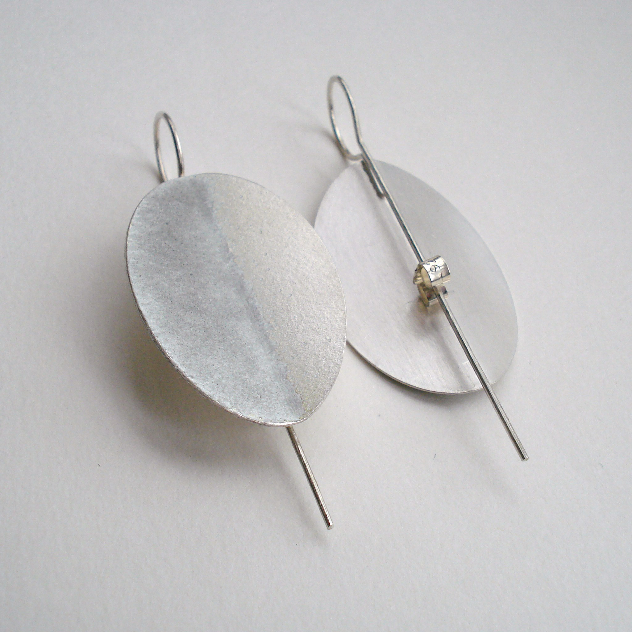 devon bud jewellery plymouth silver hoop contemporary product oxidized gallery fixed oxidised damer earrings victoria mirri sewart