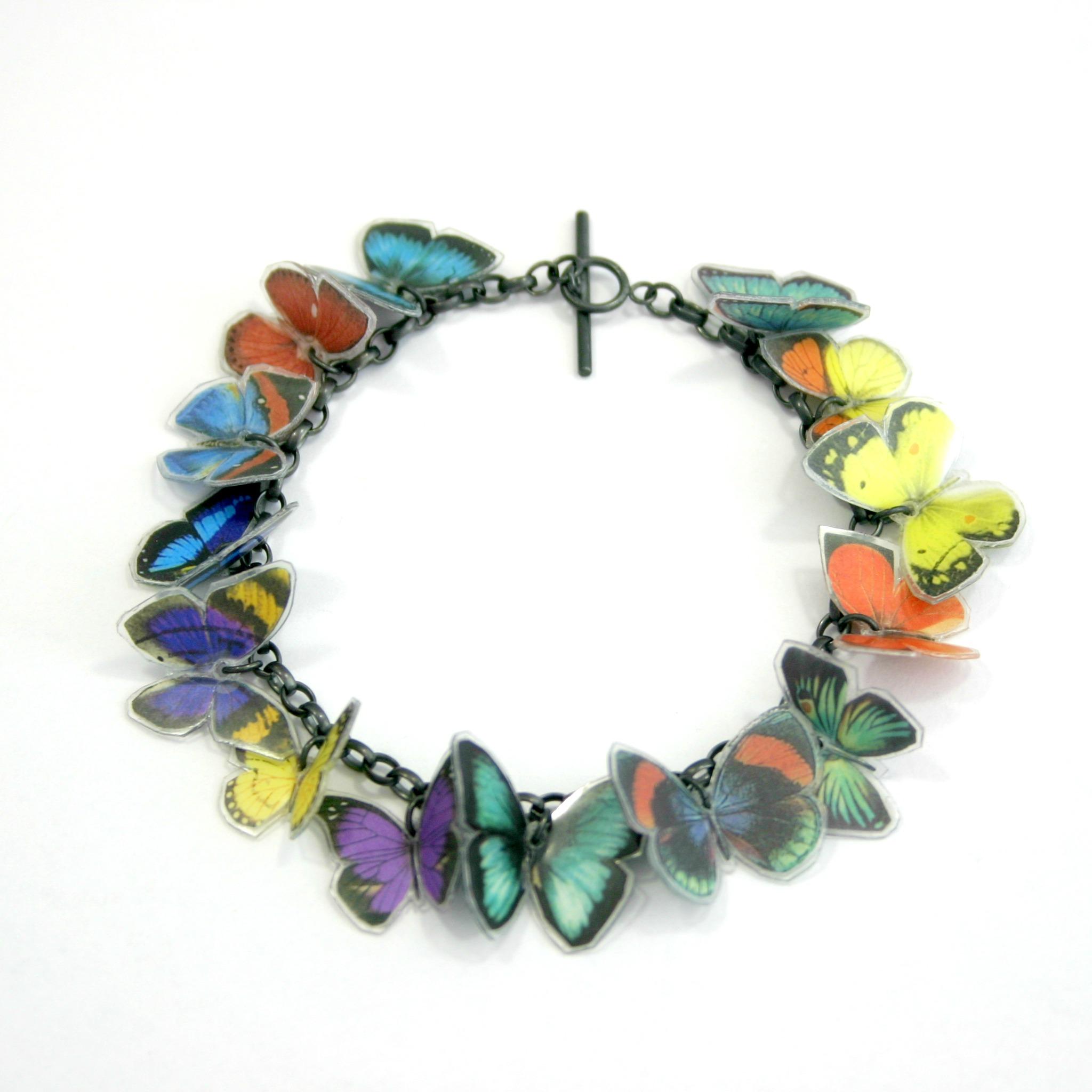 14 X Butterfly Bracelet Contemporary Bracelets By
