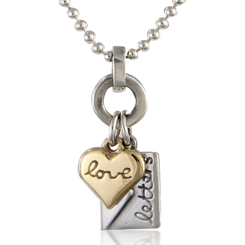love letters necklace contemporary necklaces pendants With love letter necklace